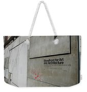 Storefront For Art And Architecture Weekender Tote Bag