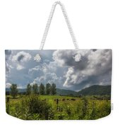 Storm And Cattle Weekender Tote Bag