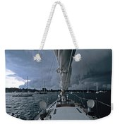 Storm At Put-in-bay Weekender Tote Bag