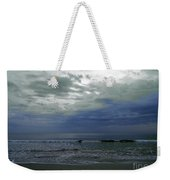 Storm At The Beach Weekender Tote Bag