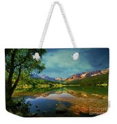 Storm At Trout Lake Weekender Tote Bag