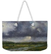 Storm Brewing Over The Refuge Weekender Tote Bag