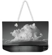 Storm Cloud On The Horizon Weekender Tote Bag