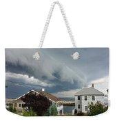 Storm Cloud Over Pigeon Cove Weekender Tote Bag