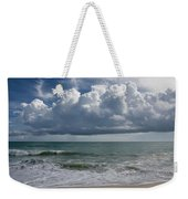 Storm Clouds Above The Atlantic Ocean Weekender Tote Bag