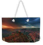 Storm Clouds North Rim Grand Canyon Arizona Weekender Tote Bag by Dave Welling