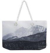 Storm Clouds On Pikes Peak Weekender Tote Bag