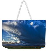 Storm Clouds Over Farmland #2 - Iceland Weekender Tote Bag