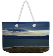 Storm Clouds Over Mono Lake Weekender Tote Bag