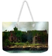 Storm Clouds Over Old New York Weekender Tote Bag