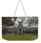 Storm Clouds Over The Citadel Weekender Tote Bag