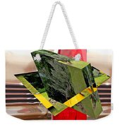 Storm Damage And Tail Light As Art Weekender Tote Bag