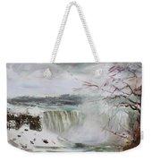 Storm In Niagara Falls  Weekender Tote Bag