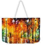 Storm Of Emotions - Palette Knife Oil Painting On Canvas By Leonid Afremov Weekender Tote Bag