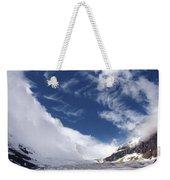 Storm On A Glacier Weekender Tote Bag