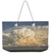 Storm On The Horizon Weekender Tote Bag