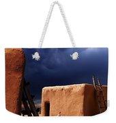 Storm On The Mesa Weekender Tote Bag