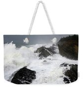 Storm On The Oregon Coast Weekender Tote Bag