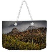 Storm Over Catalinas 15 Weekender Tote Bag