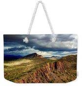 Storm Over Cliffs Weekender Tote Bag