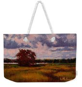 Storm Over Marshes Weekender Tote Bag