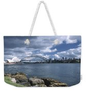 Storm Over Sydney Harbor Weekender Tote Bag
