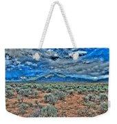 Storm Over Taos Mountain Weekender Tote Bag