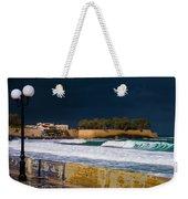 Storm Over The Aegean Weekender Tote Bag