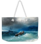 Storm Over The Black Sea Weekender Tote Bag
