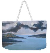 Storm Over The Lake Weekender Tote Bag