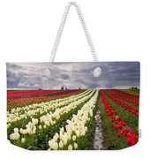 Storm Over Tulips Weekender Tote Bag by Mike  Dawson