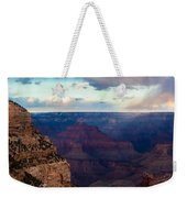 Storm Passes The Grand Canyon Weekender Tote Bag