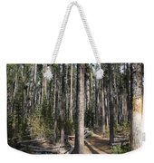 Storm Point Trail Forest Weekender Tote Bag