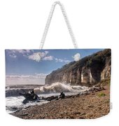 Storm Tide Cliffs End Weekender Tote Bag