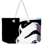 Storm Trooper In Black And White Weekender Tote Bag