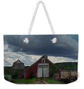 Storm Upon Maple Grove Farm Weekender Tote Bag