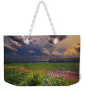 Storms A Comin Weekender Tote Bag