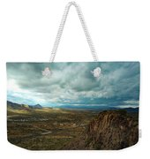 Storms And Cliffs Weekender Tote Bag