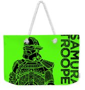 Stormtrooper - Green - Star Wars Art Weekender Tote Bag
