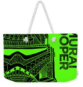 Stormtrooper Helmet - Green - Star Wars Art Weekender Tote Bag