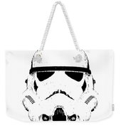Stormtrooper Helmet Star Wars Tee Black Ink Weekender Tote Bag