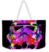 Stormtrooper Mask Rainbow 10 Weekender Tote Bag