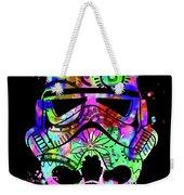 Stormtrooper Mask Rainbow 6 Weekender Tote Bag