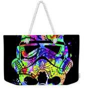 Stormtrooper Mask Rainbow 9 Weekender Tote Bag