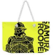 Stormtrooper - Yellow - Star Wars Art Weekender Tote Bag