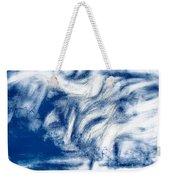 Stormy Abstract Weekender Tote Bag