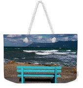 Stormy Aegean Sea Weekender Tote Bag