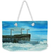 Stormy At Morro Bay Weekender Tote Bag
