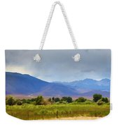 Stormy California Mountains Weekender Tote Bag