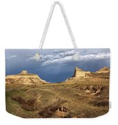 Stormy Day At Mitchell Pass Weekender Tote Bag